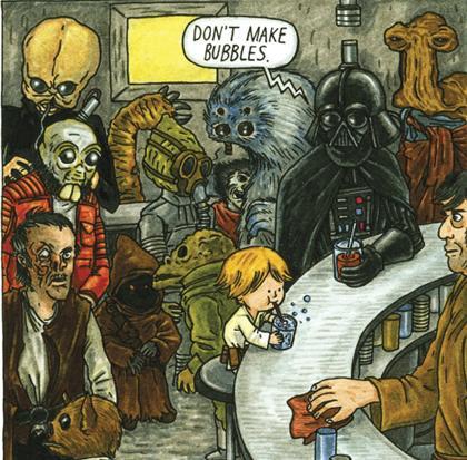 Vader bubbles