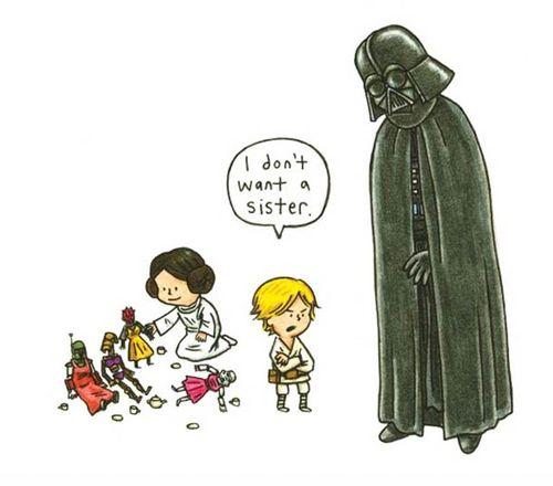 Vader sister