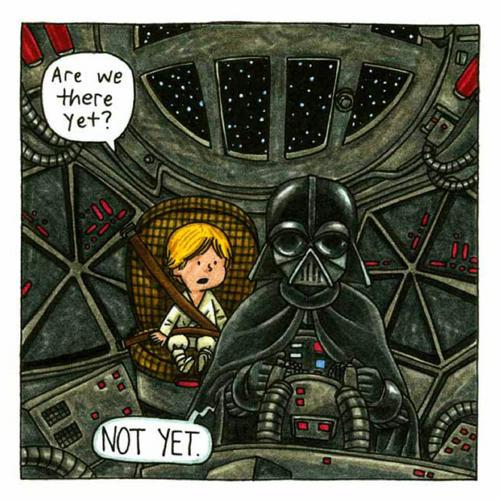 Vader tie figher