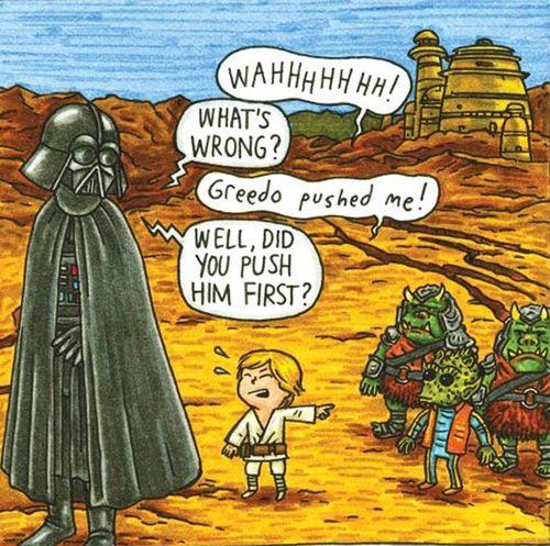 Vader greedo
